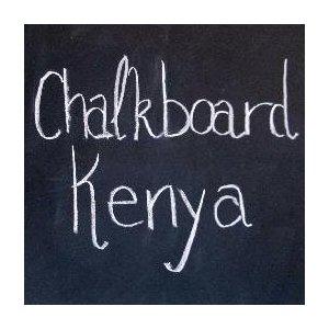 Chalkboard Kenya